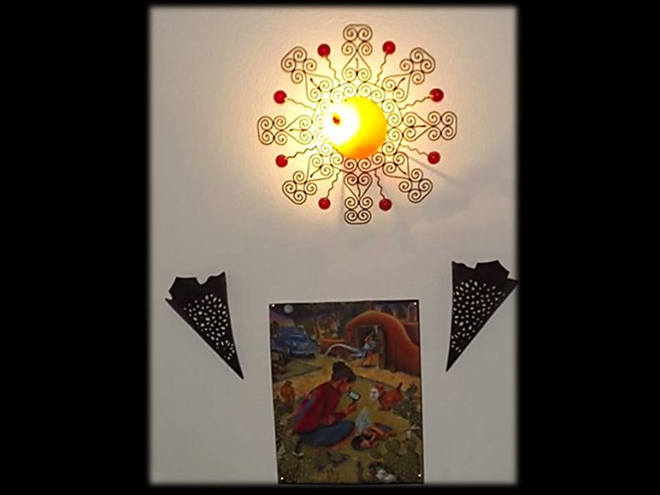lámpara sol revelación