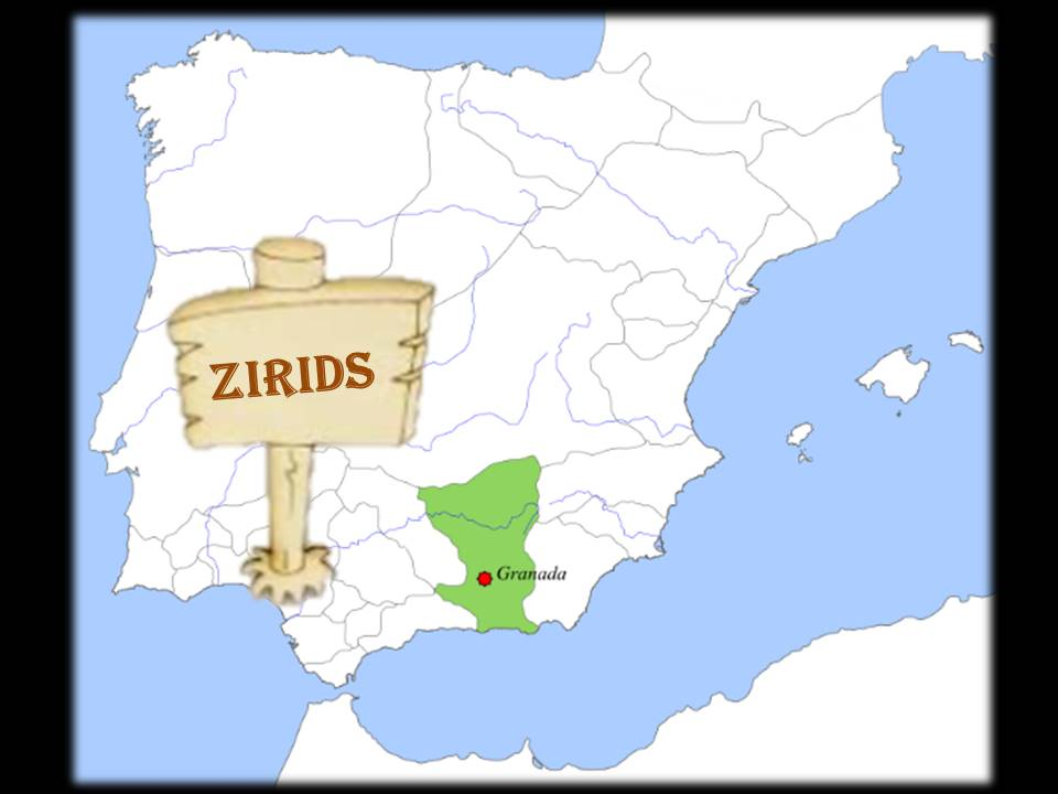 # mapa del reino zirí