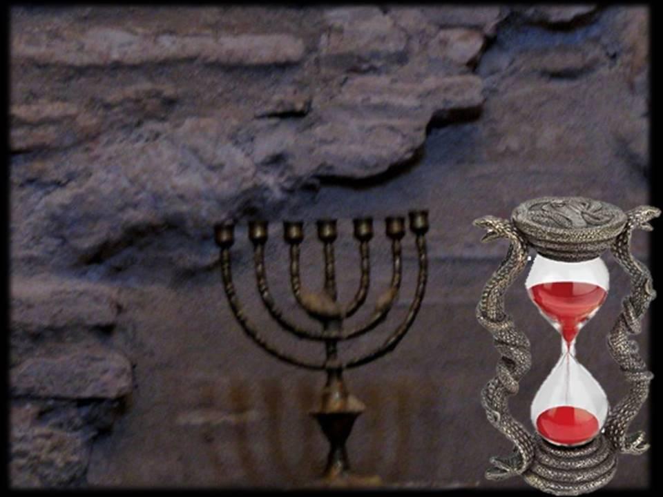 # menora and hourglass