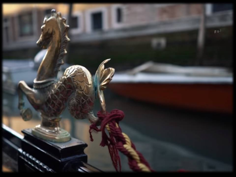@seahorse gondola oar lock